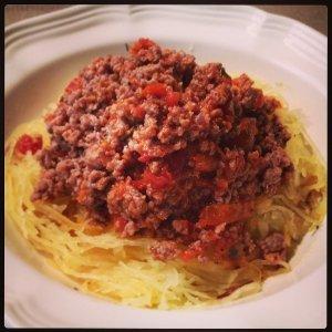 Готовое спагетти