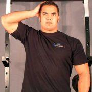 накачать шею упражнение 3