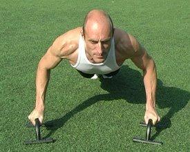 Статические упражнения для груди и рук
