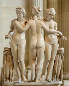 Идеальное женское тело в античные времена