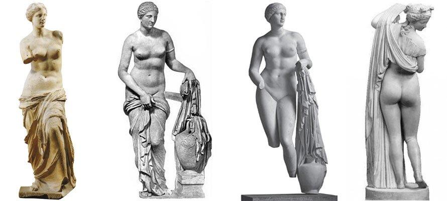 Идеальные женские тела